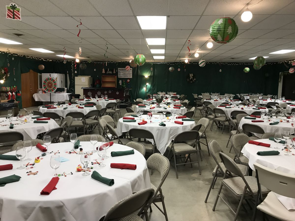 Wine Auction at American Legion Post in Electric City
